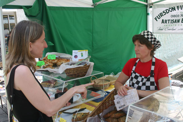 Totnes Pound with Trader