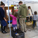 Apple pressing at the Rotherfold fair in October 2014