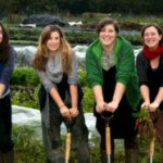 School Farm's directors, Jenny, Zoe, Laura and Mel