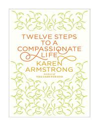 Image of cover of book 12 steps to a compassionate life