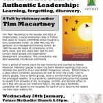 Authentic Leadership Jan 2008