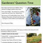 Gardeners Question Time May 2011