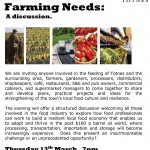 Linking up our local food and farming needs Feb 2008