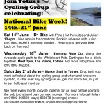 National Bike Week May 2008
