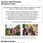 Sharpham Talk November 2008