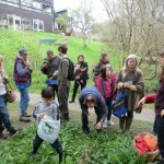 Foraging with Trudy