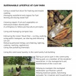 Sustainable Lifestyle at Clay Park