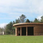 Ceremonial building, Sharpham Natural burial ground