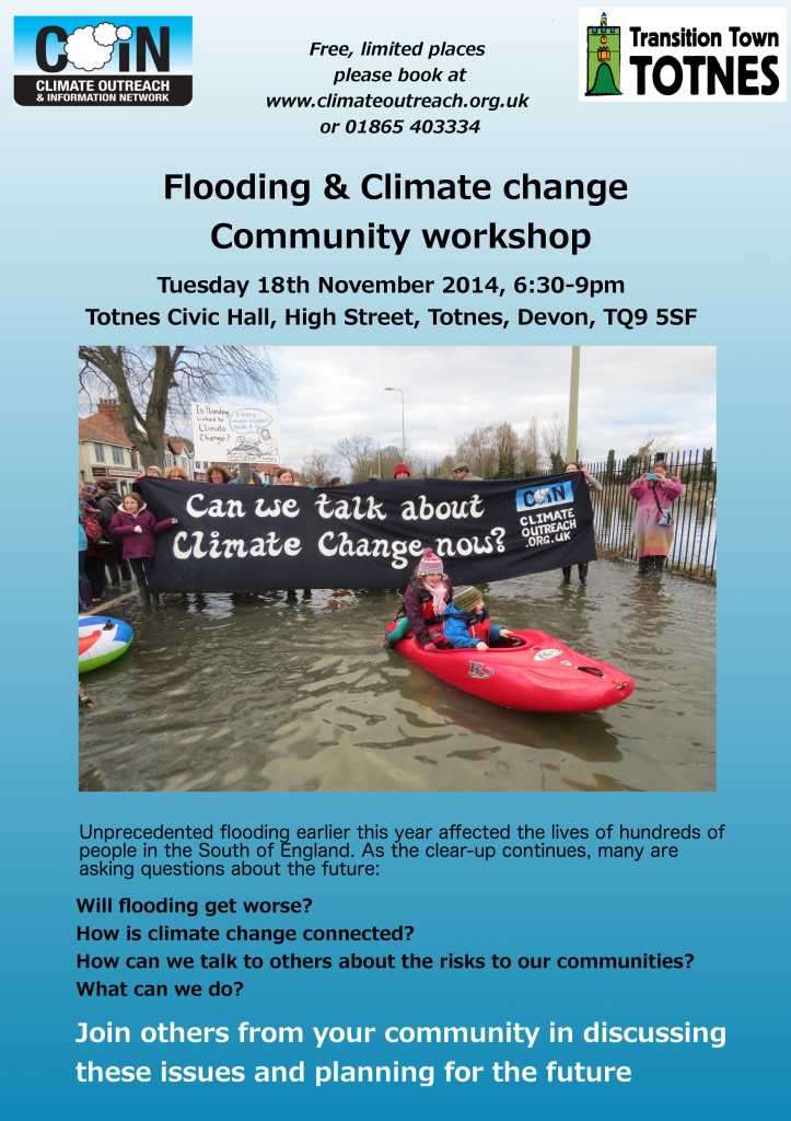 141118 Flooding Workshop Poster Totnes(2)
