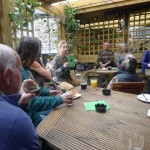 Oat story-telling at the Bay Horse BBQ