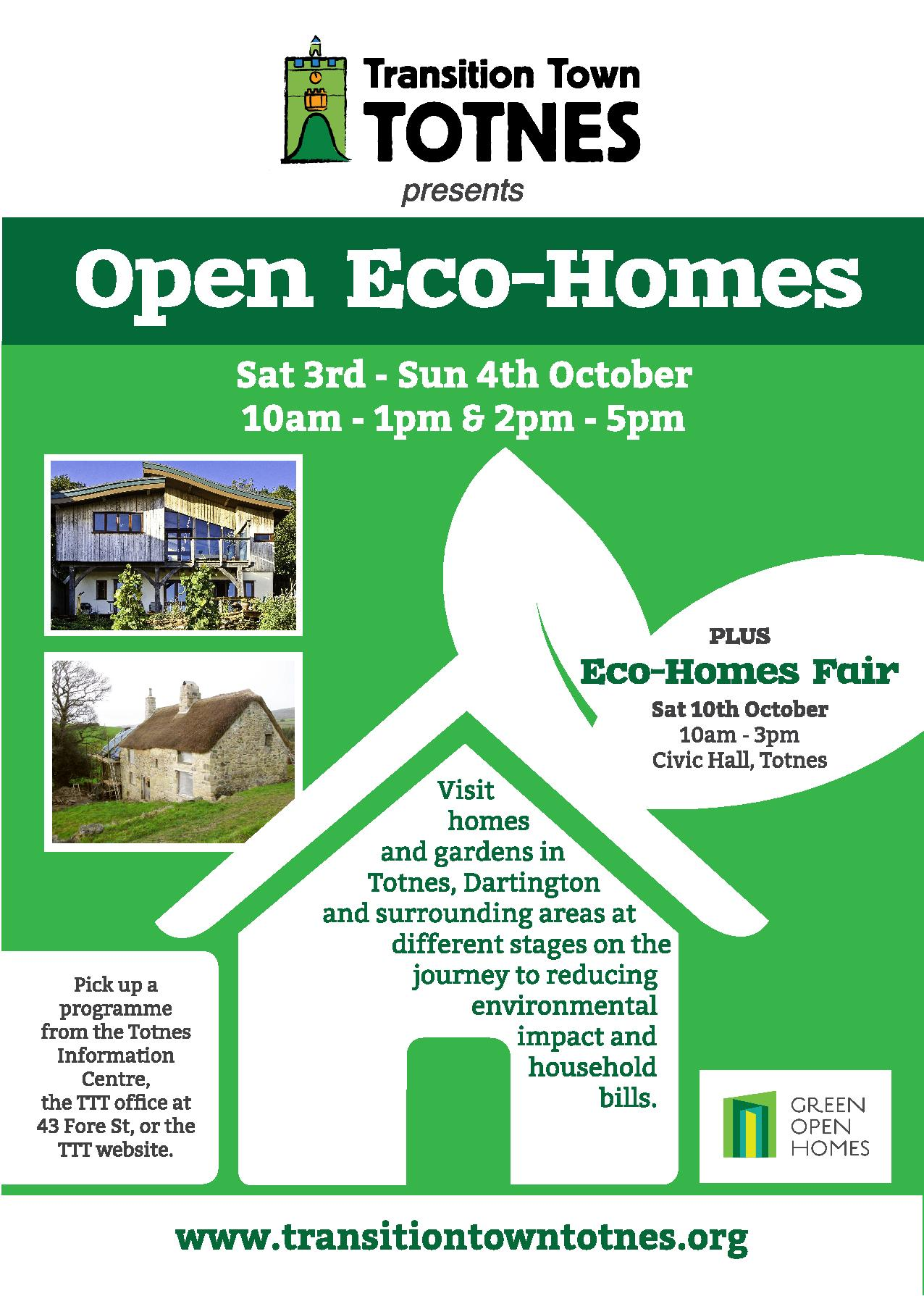 Open eco homes oct 2015 download your programme here for Eco home builders
