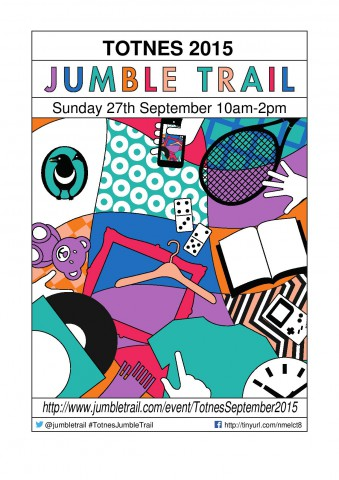 Totnes Jumble Trail - A4 poster-page-001